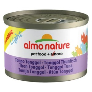 Almo Nature Classic Light 6 x 50 g - Hühnerbrust mit Bonito Thunfisch