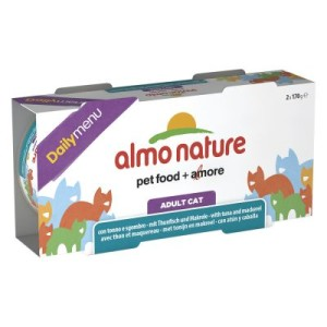 Almo Nature Daily Menu 6 x 170 g - Thunfisch & Sardinen