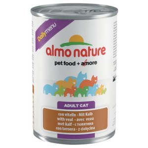 Almo Nature Daily Menu 6 x 400 g - Kalb