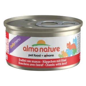Almo Nature Daily Menu 6 x 85 g - Häppchen mit Forelle