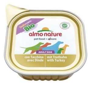 Almo Nature Daily Menu Bio Paté 6 x 100 g - mit Rind & Gemüse