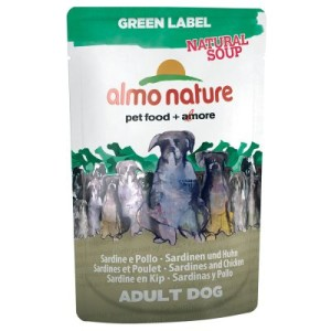 Almo Nature Green Label Natural Soup 6 x 140 g - Hühnerfilet