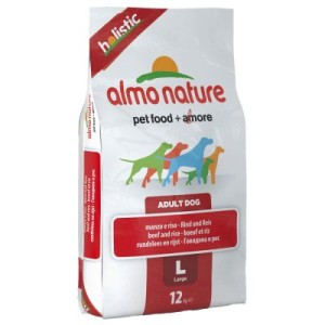 Almo Nature Holistic Adult Rind & Reis Large - Sparpaket 2 x 12 kg