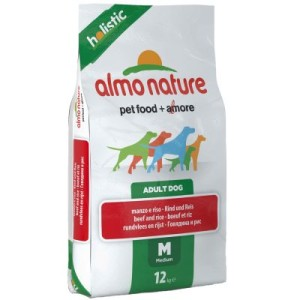 Almo Nature Holistic Adult Rind & Reis Medium - Sparpaket 2 x 12 kg