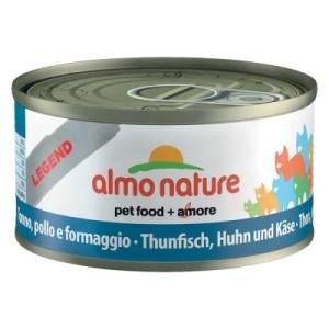 Almo Nature Legend 6 x 70 g - Huhn mit Käse