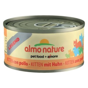 Almo Nature Legend Kitten 6 x 70 g - Huhn