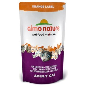 Almo Nature Orange Label Adult Kaninchen - Sparpaket 3 x 750 g