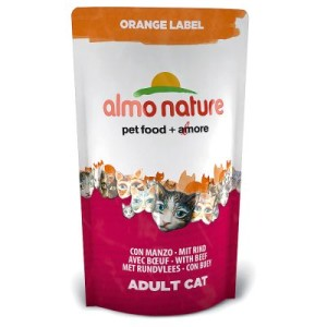Almo Nature Orange Label Adult Rind - Sparpaket 3 x 750 g