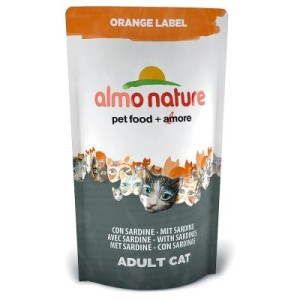 Almo Nature Orange Label Adult Sardine - Sparpaket 3 x 750 g
