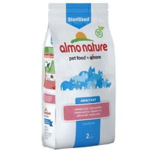 Almo Nature Sterilised Lachs & Reis - Sparpaket: 2 x 2 kg