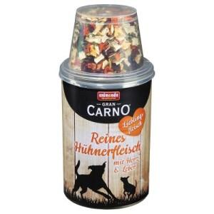 Animonda GranCarno Lieblingsfleisch 12 x 430 g/410 g - Reines Hühnerfleisch mit Herz