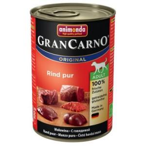 Animonda GranCarno Original Adult 6 x 400 g - Rind & Wild