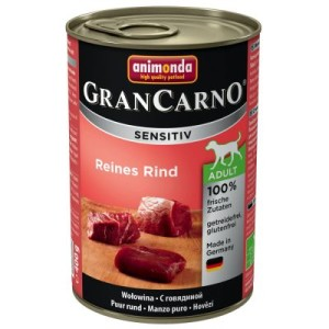 Animonda GranCarno Sensitive 6 x 400 g - Reines Rind