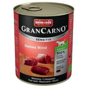 Animonda GranCarno Sensitive 6 x 800 g - Rind & Kartoffel