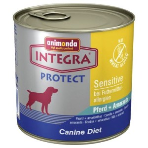 Animonda Integra Protect Sensitive - 24 x 600 g Pferd & Amaranth