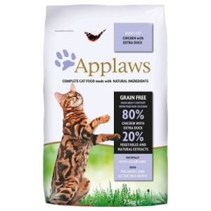 Applaws Adult Huhn & Ente - Sparpaket: 2 x 7