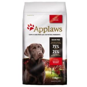 Applaws Adult Huhn Große Rassen - Sparpaket: 2 x 15 kg