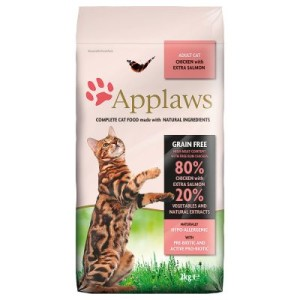 Applaws Adult Huhn & Lachs - Sparpaket: 2 x 7