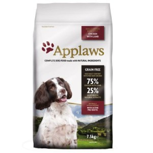 Applaws Adult Huhn & Lamm Kleine & Mittelgroße Rassen - Sparpaket: 2 x 15 kg