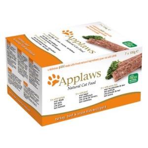 Applaws Cat Paté Probierpack 7 x 100 g - Probierpack II