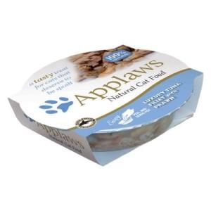 Applaws Cat Pot Katzenfutter 6 x 60 g - Saftige Hühnchenbrust & Ente