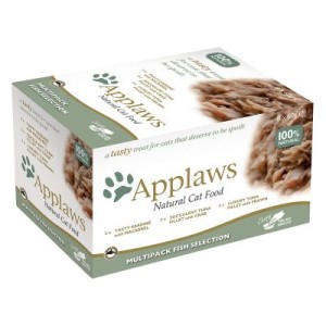 Applaws Cat Pot Selection Probierpack 8 x 60 g - Fischauswahl