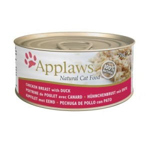 Applaws Katzenfutter 6 x 70 g - Makrele mit Sardinen
