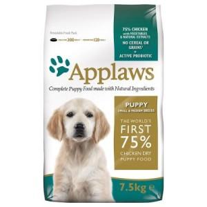 Applaws Puppy Huhn Kleine & Mittelgroße Rassen - Sparpaket: 2 x 15 kg