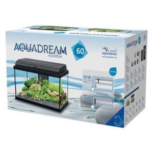 Aquatlantis Aquadream 60 Aquarienset - schwarz