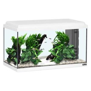 Aquatlantis Aquarium 60x30x30 LED - weiß