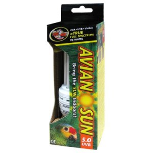 AvianSun 5.0 UVB Compact Fluorescent Bird Lamp - 26 W