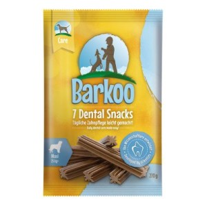 Barkoo Dental Snacks - für mittelgroße Hunde (7 Stück)