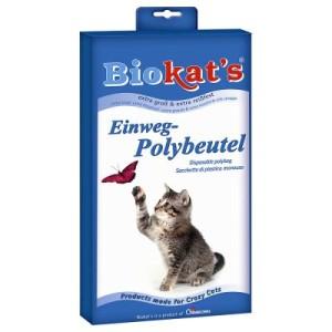 Biokat's Einweg-Polybeutel für Katzentoiletten - 12 Stück