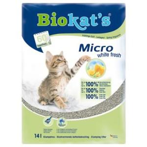 Biokat's Micro White Fresh - Sparpaket 2 x 14 l