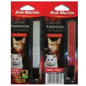 Bob Martin Flohhalsband Catwalk Fashion Twinpack - Sparpaket: 3 x 2er Pack