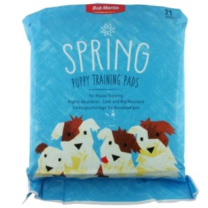 Bob Martin Spring Trainingsunterlage für Hundewelpen - 21 Stück