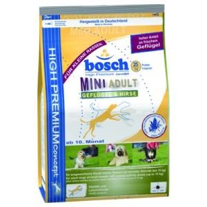Bosch Adult Mini Geflügel & Hirse - Sparpaket: 3 x 3 kg