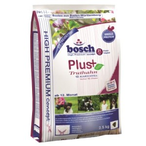 Bosch Plus Truthahn & Kartoffel - Sparpaket: 2 x 12