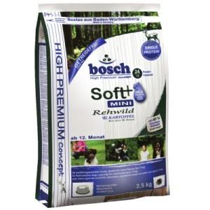 Bosch Soft Mini Rehwild + Kartoffel - Sparpaket 3 x 2