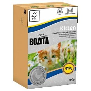 Bozita Feline Kitten Tetra Recart - 6 x 190 g