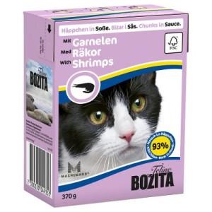 Bozita Häppchen 1 x 370 g - Soße: mit Garnelen
