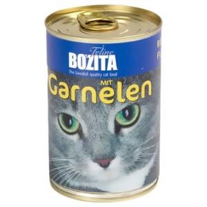Bozita Nassfutter 6 x 410 g - Garnelen