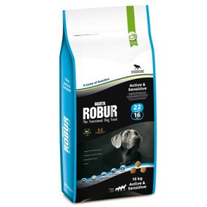 Bozita Robur Active & Sensitive 22/16 - 15 kg