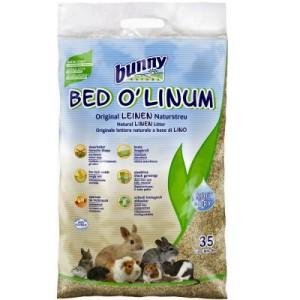 Bunny Bed O' Linum Leinen Naturstreu - 2 x 35 l