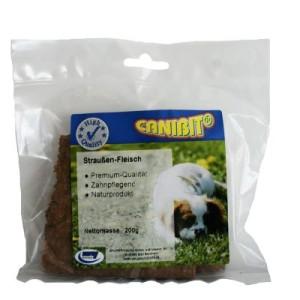 CANIBIT Straußenfleisch - 3 x 200 g
