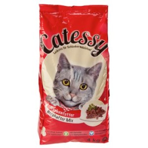 Catessy Adult Herzhafter Mix - 2 x 4 kg