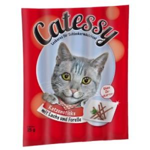 Catessy Sticks 15 Stück - mit Lachs & Forelle