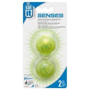 Catit Design Senses Beleuchtete Bälle - 2 Stück