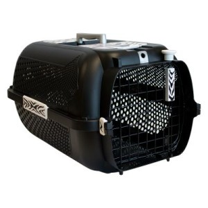 Catit Transportbox White Tiger Voyageur Black - L 57 x B 38 x H 31 cm