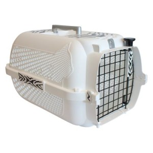 Catit Transportbox White Tiger Voyageur White - L 48 x B 32 x H 28 cm